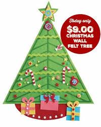 Felt Wall Christmas Tree