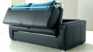 canape convertible cuir canape lit noir canape lit convertible 3 places canape cuir lit