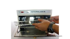 Uv Sterilizer Cabinet Uk by Sterilizer Youtube