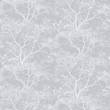 Holden Decor Whispering Trees Grey Wallpaper 65401 From The Statement Collection