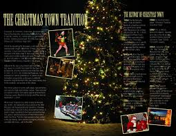 75 Foot Christmas Tree by Christmas Town Usa Mcadenville Christmas Lights U0026 Tree Lighting