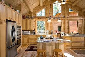 log house kitchen ideas tiny cabin rustic images subscribed me
