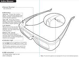 5 pcs 3d ir active shutter glasses for benq w1070 w700 w710st dlp