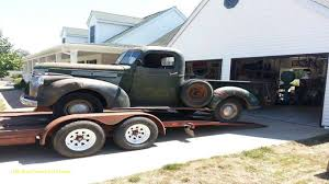 1946 Chevy Truck S10 Frame Swap ✓ All About Chevrolet