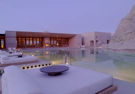100 Aman Resort Usa Exclusive Image Overlooking The Swimming Pool And Pavillion