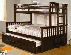 twin over queen bunk bed for cottage home ideas pinterest