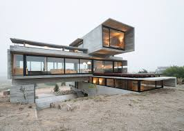 100 Concrete House Designs House By Luciano Kruk Stands On Seaside Golf Course