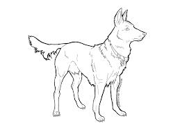 German Shepherd Coloring Pages Print Dog Breeds