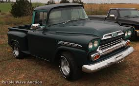 1959 Chevrolet Apache 31 Pickup Truck   Item DF3655   SOLD! ... Custom 1950s Chevy Trucks For Sale Your Truck Very Nice 1958 Chevrolet Apache Pick Up Sale 2196038 Hemmings Motor News 1961 C20 Pickup Fleetside On Bat Auctions 1965 C10 For In Bc 350 Small Block Classic Car 1955 In Fulton County 1956 Big Window Short Bed Stepside Hot Rod Network 1959 3100 Stock 139365 Near Columbus Oh 4x4 18097 San Ramon Ca Classiccarscom Cc909448