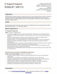 IT Support Engineer Resume Sample