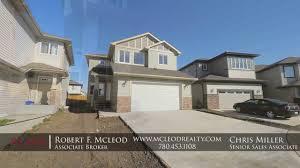 100 Mcleod Homes 18 Santa Fe Court Fort Saskatchewan Custom Home By BG Urban Ltd McLeod Realty