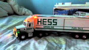 1987 Hess Truck Review - YouTube 1990 Hess Toy Tanker Truck Video Review Youtube 2003 And Racecars Lights Helicopter 2012 Stowed Stuff Of The 2013 Tractor First 1964 Amazoncom 2016 Dragster Toys Games Toy Truck Book 50th Anniversary 2014 Never Open New 2017 Trucks New In Original Box Unopened Miniature Racers Unboxing Demo Great Chirstmas Hess Toy Truck And Tractor Horizontal Vinyl Poster 19 12 Wide