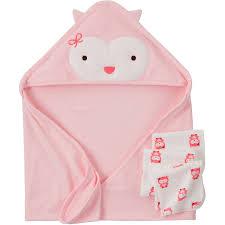 Pink Bathroom Sets Walmart by Child Of Mine Com Bath Set Owl Walmart Com