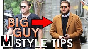 How To Dress Heavy Set Men