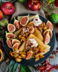 vegane crêpes mit apfel zimt füllung mrs flury gesunde