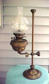 Kerosene Lamp Wicks Australia by Antique Harvard Student Brass Oil Lamp Http Centophobe Com