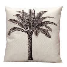 US $2.99 |45*45cm Nordic Linen Cushion Cover For Sofa Chair Coconut Tree  Printed Car Seat Cushions Home Decor 1 PCS/Lot-in Cushion Cover From Home &  ...