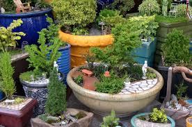 Miniature Garden Furniture Style