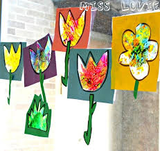 Miss Lovie Stained Glass Flower Kids Craft A Lazy Sunday Activity Today