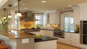 kitchen black granite countertop island gray countertops