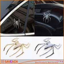 New Decal Sticker 3D Spider Car Truck Motor Metal New Cute Shape ...