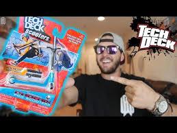 Tech Deck Fingerboards Walmart by Raymond Warner Tech Deck Scooter Toy Youtube