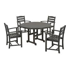 Sears Patio Furniture Monterey by Trex Outdoor Furniture Monterey Bay Tree House 5 Piece Plastic