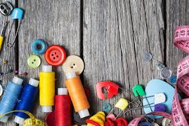 Sewing Supplies Stock Illustration Image