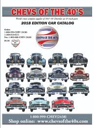 Order A Chevs Of The 40s Downloadable Car Or Truck Catalog