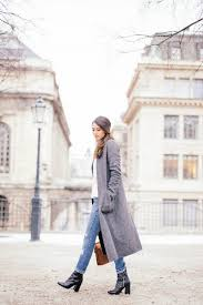 Soraya Bakhtiar Demonstrates Another Cute Winter Look Pairing Rolled Jeans With Heeled Leather Boots And