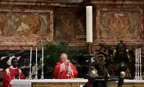 Funeral pomp for cardinal decried