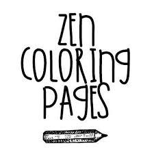 Zen Coloring Pages Zencoloringpage