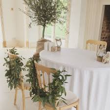 Foliage Swags For Bridal Ceremony At The Vine Room Northbrook Park Created By Eden Blooms ParkBlooms FloristRustic