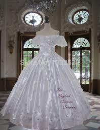 Victorian Crinoline Dress Civil War Sequin And Diamante Studded