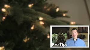 Troubleshooting Led Christmas Tree Lights by Troubleshooting Tips For Artificial Christmas Trees Youtube