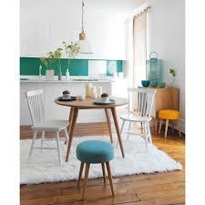 maison du monde tabouret tabouret en tissu jaune bois table ronde maison du monde et