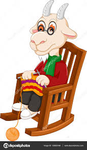 Iictures: Funny Goat Cartoon | Funny Goat Cartoon Knitting ... Illustration Featuring An Elderly Woman Sitting On A Rocking Vector Of Relaxed Cartoon Couple In Chairs Lady Sitting Rocking Chair Storyweaver Grandfather In Chair Best Grandpa Old Man And Drking Tea Santa With Candy Toy Above Cartoon Table Flat Girl At With Infant Baby Stock Fat Dove Funny Character Hand Drawn Curled Up Blue Dress Beauty Image Result For Old Man 2019 On Royalty Funny Bear Vector Illustration