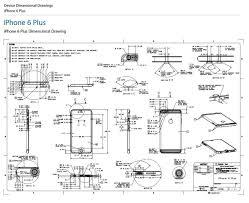 iPhone 6 Plus original dimensions 3D