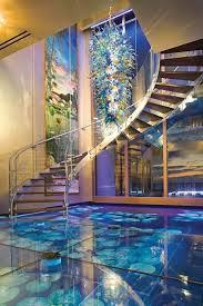 Glass Floor With Pond Underneath In Acqua Liana Florida