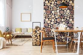 100 Bright Apartment Spacious Bright Apartment Designed In Rustic Style With Logs