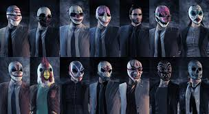 Payday 2 Halloween Masks Disappear by Who Is Your Favorite Gangster From Fiction Spacebattles Forums