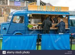 100 Seabirds Food Truck Old Van Awning Stock Photos Old Van Awning Stock Images