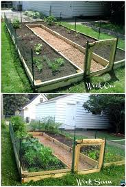 Vegetable Garden Instructions Raised Bed Ideas Free Plans Pallet