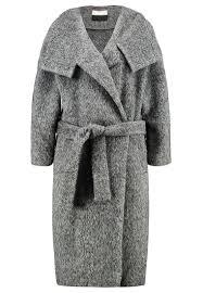 by malene birger women wool coats eclipse classic coat grey