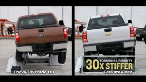 Chevy Vs. Ford HD Truck - Bed Bend Video - YouTube