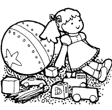 Toy shop clipart black and white