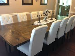 Dining Table How To Build A Large Awesome Make Chair Covers Room With Additional For Rent