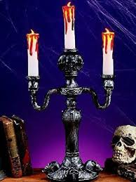 Scary Halloween Props For Haunted House by Candelabra Prop Led Light Up Candles Haunted House Scary Halloween