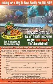 Omaha Pumpkin Patch by Ralston Recorder Ralstonrecorder Twitter