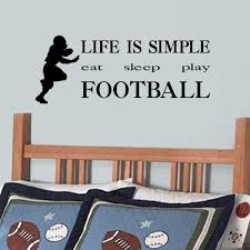 Shop All Decals Boys Wall Decals Life Is Simple Eat Sleep